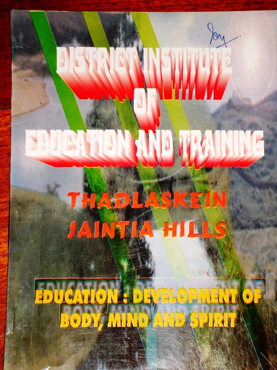 Education : Development Of Body Mind And Spirit